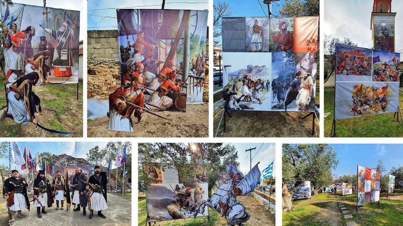 Σέρρες: Ένα θεματικό πάρκο αφιερωμένο στους ήρωες του 1821 στο Σιδηρόκαστρο