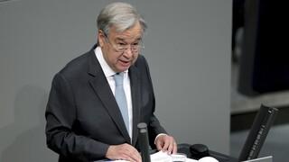 Υποψήφιος για δεύτερη θητεία στο αξίωμα του Γενικού Γραμματέα του ΟΗΕ ο Γκουτέρες