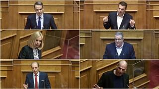 Ελληνικό #metoο: Η ώρα των πολιτικών αρχηγών στη Βουλή (liveblog)