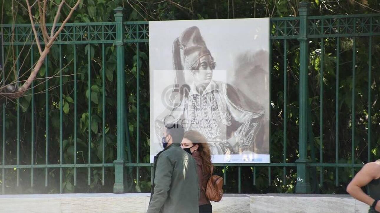 Εθνικός Κήπος: Υπαίθρια έκθεση για τα 200 χρόνια από την Ελληνική Επανάσταση (pics)