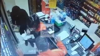 Αποκλειστικό CNN Greece: Καρέ - καρέ η δράση των ληστών που «ρήμαζαν» βενζινάδικα στη Θεσσαλονίκη