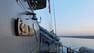 Πολεμικό Ναυτικό: Η φρεγάτα «Ύδρα» σε εκπαιδευτική άσκηση στον Περσικό Κόλπο