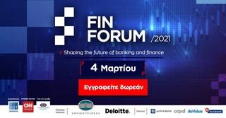 Κορυφαία στελέχη της οικονομίας και των τραπεζών στο πρώτο Fin Forum 2021 - Δήλωσε συμμετοχή δωρεάν