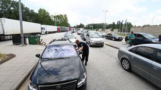 Lockdown: Τι αλλάζει στο πέρασμα των συνοριακών σταθμών Κακαβιάς και Ευζώνων