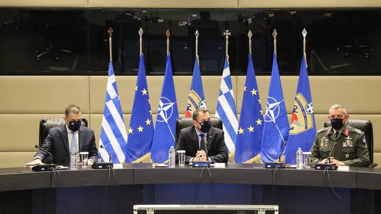 Αρχηγός ΓΕΕΘΑ: Έτος προκλήσεων ήταν το 2020, οι Ένοπλες Δυνάμεις ανταποκρίθηκαν με επιτυχία