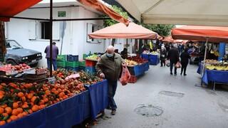 Κορωνοϊός: Ανοιχτές οι λαϊκές αγορές τα Σαββατοκύριακα - Αναλυτικά τα μέτρα