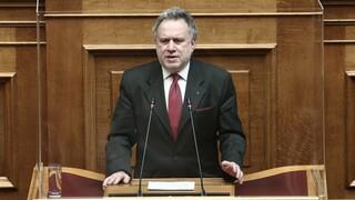 Κατρούγκαλος: Προκαλεί ανησυχία το κενό στρατηγικής στην εξωτερική πολιτική
