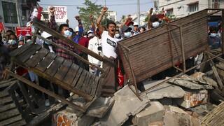 Μιανμάρ: Τουλάχιστον 18 νεκροί στις επιχειρήσεις καταστολής των διαδηλώσεων