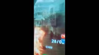 Βίντεο – ντοκουμέντο από την επίθεση με μολότοφ στο Α.Τ. Καισαριανής