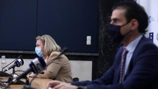 Κορωνοϊός: Live η ενημέρωση για την εκστρατεία εμβολιασμών από Θεοδωρίδου - Θεμιστοκλέους