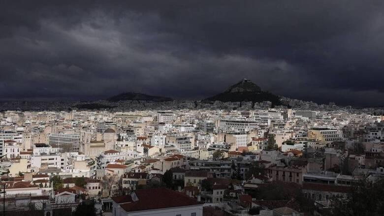 Καιρός: Βροχές και πτώση θερμοκρασίας στο μεγαλύτερο μέρος της χώρας