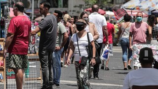 Κορωνοϊός: Η χειρότερη ημέρα της Βραζιλίας - Πάνω από 1.600 νεκροί σε ένα 24ωρο