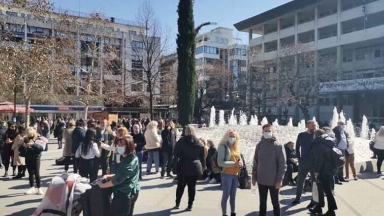 Σεισμός 6 Ρίχτερ κοντά στην Ελασσόνα: Πετάχτηκαν στο δρόμο οι κάτοικοι της Λάρισας