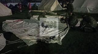 Σεισμός Ελασσόνα: Νύχτα δοκιμασίας για τους σεισμόπληκτους