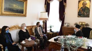 Οικουμενικό Πατριαρχείο: Συνάντηση Βαρθολομαίου με τον επικεφαλής της ΕΕ στην Τουρκία