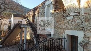 Το CNN Greece στην Ελασσόνα: Εικόνες καταστροφής στο Δαμάσι - 100 σπίτια κατέρρευσαν