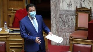 Αντιπαράθεση Γεωργιάδη - Βελόπουλου στη Βουλή