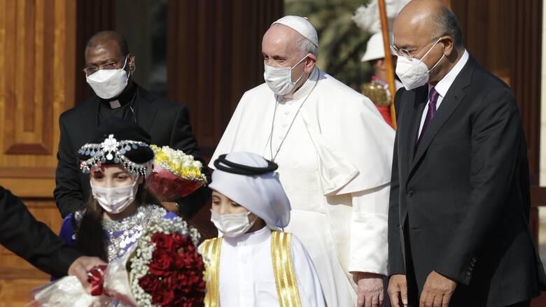 Ιστορική επίσκεψη πάπα Φραγκίσκου στο Ιράκ εν μέσω κινδύνων ασφαλείας και πανδημίας