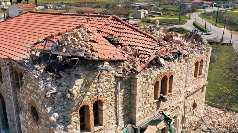Σεισμός Ελασσόνα: Μη κατοικήσιμα 520 σπίτια - Συνεχίζεται η καταγραφή των ζημιών