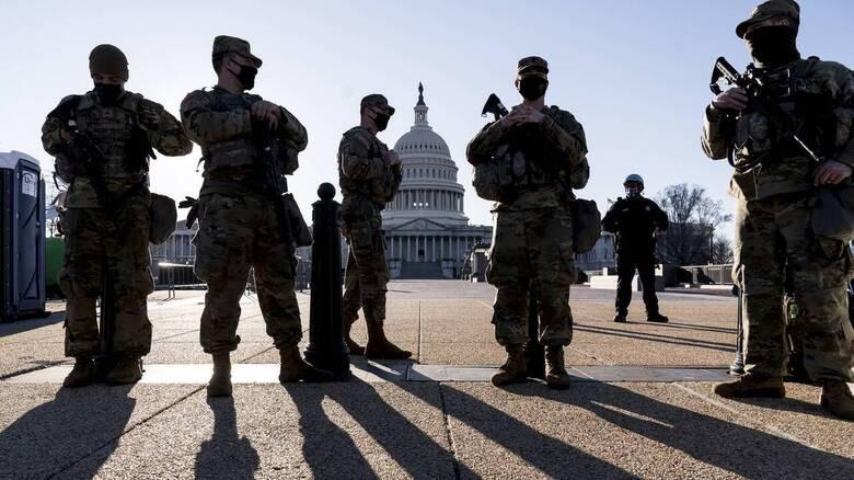 Εθνοφρουρά στο Καπιτώλιο για δύο μήνες ακόμη εξετάζει το αμερικανικό Πεντάγωνο