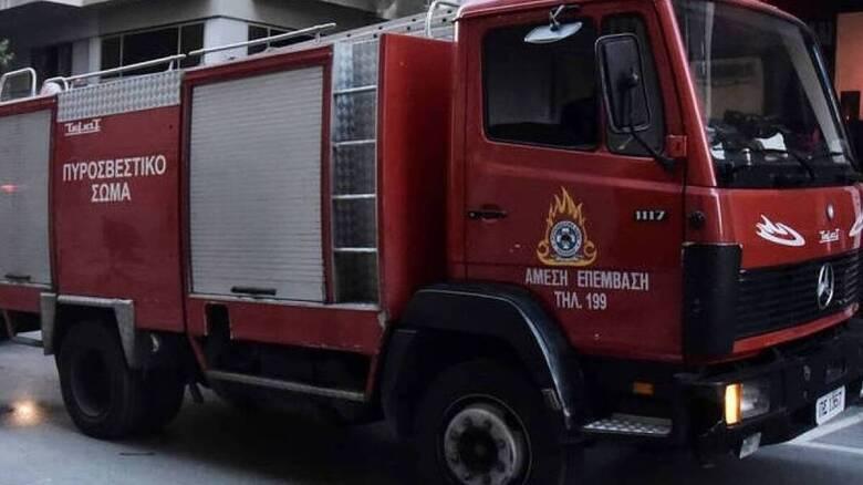 Φωτιά στον Κάλαμο Ωρωπού - Δεν κινδυνεύει κατοικημένη περιοχή