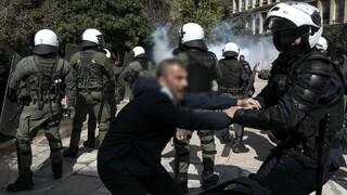 Επτά συλλήψεις και πρόστιμα για τα επεισόδια στην πορεία υπέρ Κουφοντίνα