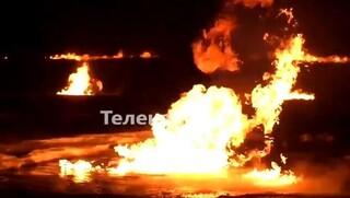 Ρωσία: Πυρκαγιά σε αγωγό αερίου στη Σιβηρία - Φόβοι για ρύπανση