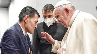 Ιράκ: Ο Πάπας συνάντησε τον πατέρα του μικρού Αϊλάν, συμβόλου της προσφυγικής κρίσης