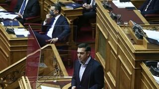 Επίκαιρη ερώτηση Τσίπρα σε Μητσοτάκη για προγκρόμ βίας και αυταρχισμό