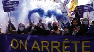 Γαλλία: Μεγάλες διαδηλώσεις στο πλαίσιο της «απεργίας των γυναικών»