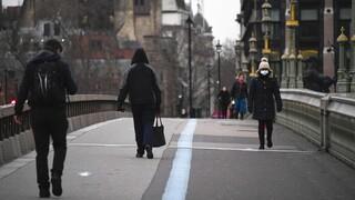 Κορωνοϊός - Βρετανία: Στο χαμηλότερο επίπεδο από το Σεπτέμβριο τα ημερήσια κρούσματα