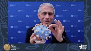 Άντονι Φάουτσι: Δώρισε το πρωτότυπο 3D μοντέλο του κορωνοϊού στο Μουσείο Σμιθσόνιαν