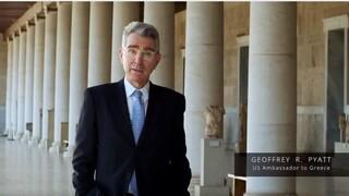 Επανάσταση 1821: Επετειακό βίντεο από την πρεσβεία των ΗΠΑ με αφηγητή τον Τζέφρι Πάιατ