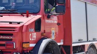 Μυτιλήνη: Nεκρός άνδρας από πυρκαγιά σε αγροικία στην περιοχή Πολιχνίτου