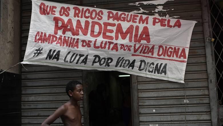 Δραματική κορύφωση της πανδημίας στη Βραζιλία: Πάνω από 2.000 νεκροί μέσα σε μία μέρα