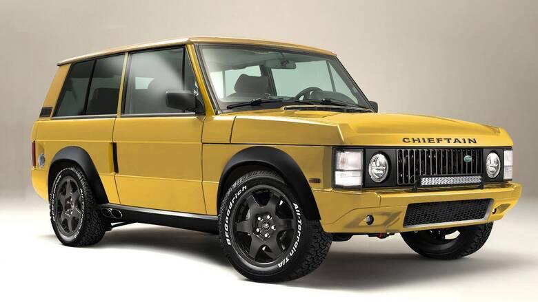 To restomod Range Rover της Chieftain είναι εντυπωσιακό από κάθε άποψη