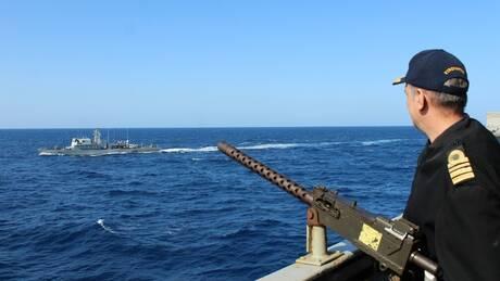 Το ελληνικό Πολεμικό Ναυτικό σε πολυεθνική άσκηση στην Ανατολική Μεσόγειο