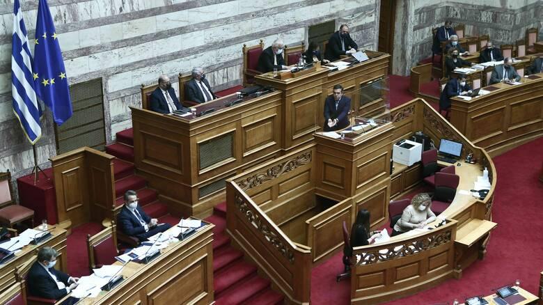 Βουλή: Υψηλοί τόνοι και αντεγκλήσεις Μητσοτάκη - Τσίπρα στη συζήτηση για την αστυνομική βία