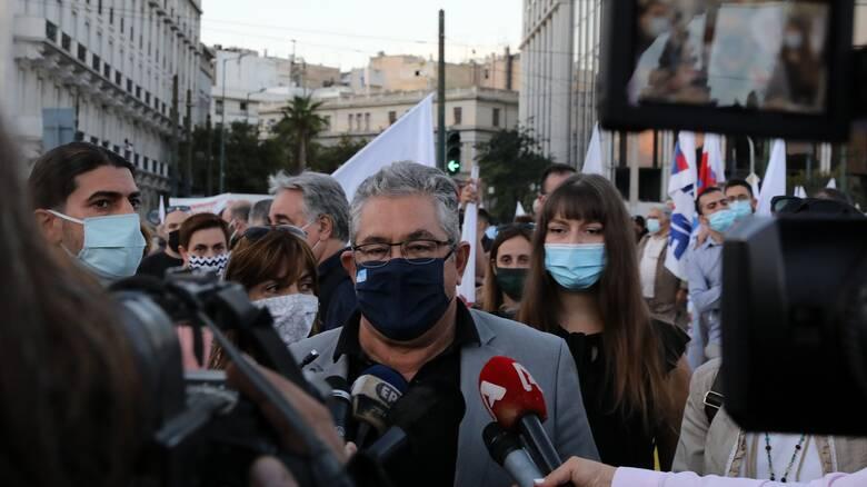 Δ. Κουτσούμπας: Η καταστολή αντιμετωπίζεται με όρους μαζικών αγώνων