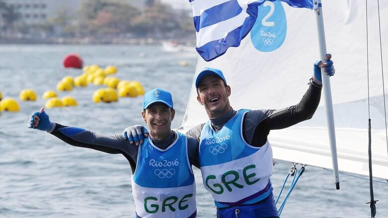 Ιστιοπλοΐα: Στους Ολυμπιακούς Αγώνες του Τόκιο προκρίθηκαν Μάντης και Καγιαλής