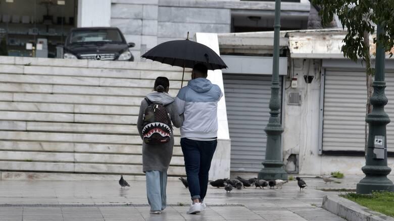 Καιρός: Άστατος την Κυριακή - Πού θα εκδηλωθούν βροχές και καταιγίδες