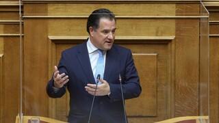 Στη Βουλή φέρνει ο ΣΥΡΙΖΑ τη συμμετοχή Άδωνι Γεωργιάδη σε βάφτιση