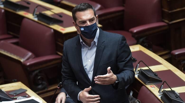 Τσίπρας: Έστω και τώρα ο Μητσοτάκης να σταματήσει την επικοινωνιακή διαχείριση της πανδημίας
