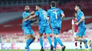 Άρσεναλ - Ολυμπιακός 0-1: Νίκη αλλά και αποκλεισμός για τους «ερυθρόλευκους»