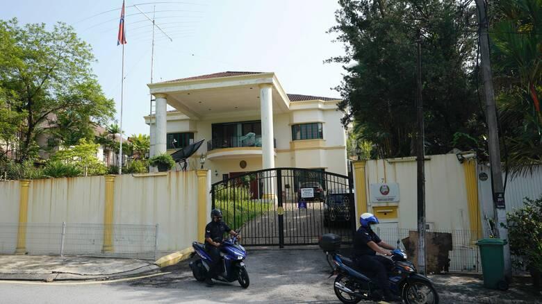 Η Βόρεια Κορέα διακόπτει τις διπλωματικές σχέσεις με τη Μαλαισία