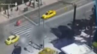 Καρέ - καρέ το δυστύχημα στη Βουλή μέσα από βίντεο - ντοκουμέντο