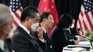 ΗΠΑ - Κίνα: Ασυμβίβαστες διαφορές απόψεων στην Αλάσκα