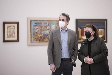 Στη νέα Εθνική Πινακοθήκη ο Μητσοτάκης: Με το τέλος της πανδημίας θα κάνουμε τα επίσημα εγκαίνια