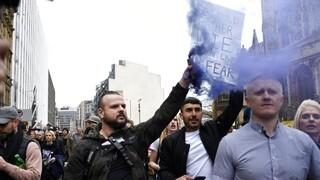 Lockdown - Βρετανία: Επεισόδια και συλλήψεις σε διαδήλωση στο Λονδίνο