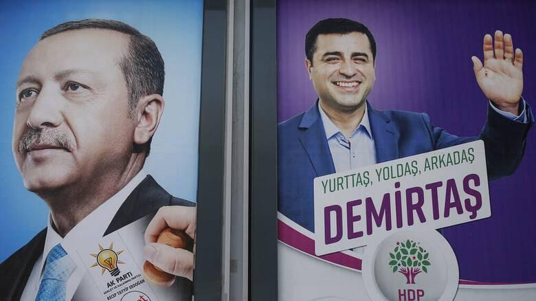 Ντεμιρτάς: Ο Ερντογάν θέλει να κλείσει το φιλοκουρδικό κόμμα HDP για να κερδίσει τις εκλογές